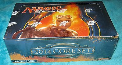 2014 CORE SET Booster Box - 36 Magic The Gathering Boosters NEW & SEALED - MTG