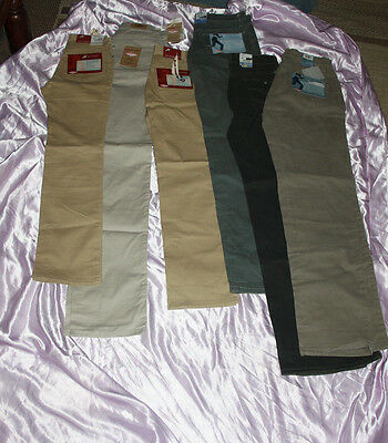 BNWT Lee Cooper trousers joblot - 6 pairs- great for resale