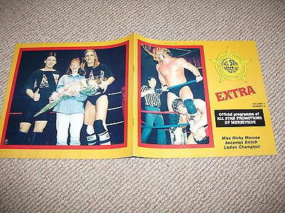 1990's All Star British wrestling programme (Liverpool Lads, Catweazle, etc)