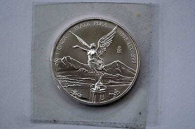 Libertad Mexico silver silber 1 oz 1998 key date exc