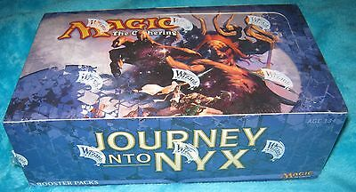 JOURNEY INTO NYX Booster Box 36 Magic The Gathering Boosters NEW & SEALED  -MTG