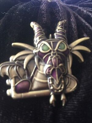 AP Disney Pin Steampunk Maleficent Dragon Stained Glass Look Artist Proof