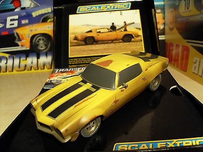 Scalextric C3272a Camaro Transformers Bumblebee - Brand New in Box