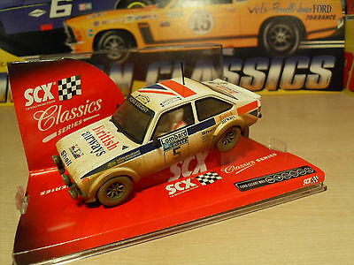 SCX 63900 Ford Escort MKII 'Dirt Effect' - Brand New in Box.