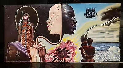 2 Lp - Miles Davis Bitches Brew - Cbs 66236 -Gatefold