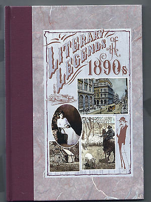 AUSTRALIA POST 1991 Book -  LITERARY LEGENDS OF THE 1890's - C/w Mint Stamps MNH