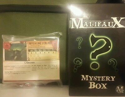 MALIFAUX  -THE GUILD- WITCHLING STALKERS mystery box