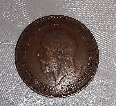 George V 1928 One Penny