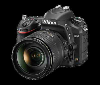 Nikon D750 Digital SLR Camera Body Only 24.3 MP + Lots of Extras