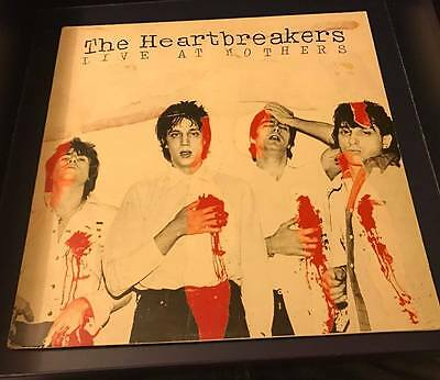"The Heartbreakers (Johnny Thunders) Live at Mothers Vinyl LP 12"" 1991"