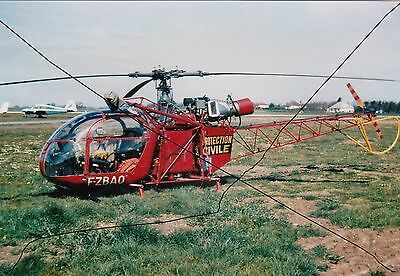 Civil Aircraft Photo Photograph Bell Helicopter Plane Picture.