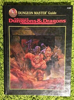 Advanced Dungeons & Dragons Dungeon Master's Guide 2nd Edition TSR 2160