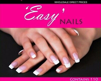 Dual Nail Forms Acrylic and Gel Nail System with Instructional DVD Nail Tech