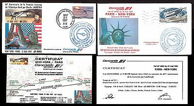 Two Af Concorde Covers ~ Lot # 10