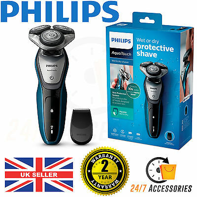 Philips S5420/06 AquaTouch Wet & Dry Mens Electric Shaver with Precision Trimmer