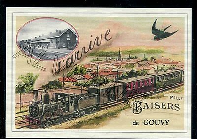 GOUVY  -...... TRAIN...   souvenir creation moderne serie numerotee