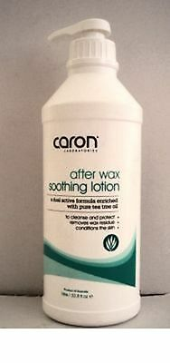 Soothing Tea Tree Lotion After Wax Body Lotion by Caron bulk 1lt pump bottle