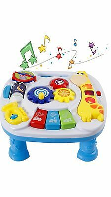 YESY Baby Musical Educational Learn Activity Table Toy, Baby Shower Gift ,New