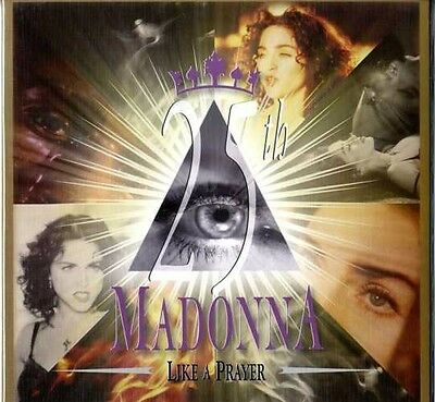 Madonna Like A Prayer 25th Anniversary Picture Disc includes Poster