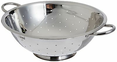 Winco Cod-8 Stainless Steel Colander with Base, 8-Quart