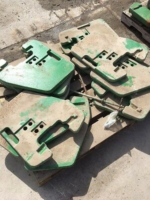 John Deere Thin Suitcase Style Tractor Weights - Just Added 12 more!