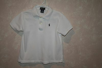 Boys Polo Shirt Size 4T Excellent Condition