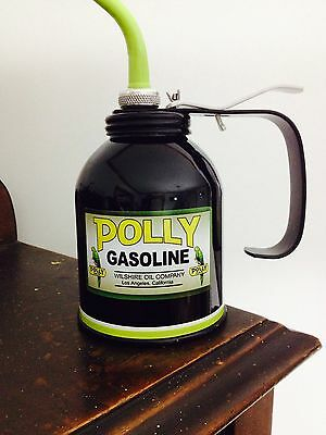 Vintage Oil Can Vintage Gas Station Vintage Oiler Can Vintage Polly Gas