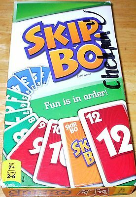 SKIP-BO CARD Game 2011 MINT CONDITION! 100% COMPLETE!