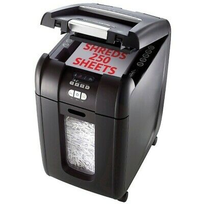 Rexel Stack and Shred Office Shredder Auto + 250