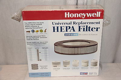 HONEYWELL HRF-14 HEPA Air Filter, Universal Replacement for ENVIRACAIRE Round