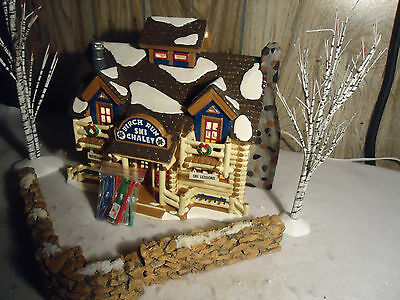 "Dept 56 "" BIRCH RUN CHALET "" with 5 nice bonuses"