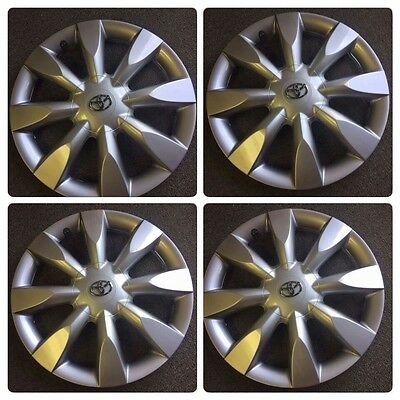"""SET OF 4 REPLACEMENT 15"""" Fits Toyota Corolla Hubcap 2009 2010 2011 20120 2013"""