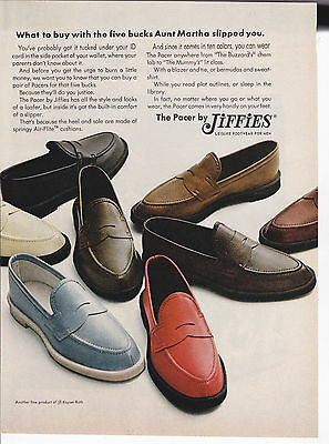 Original Print Ad-1966 What to buy with the $5 Aunt Martha Slipped You-Jiffies