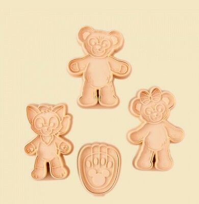 Japan Tokyo Disney SEA Valentine day Cookie Cutter Duffy Shelliemay Gelatoni New