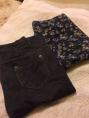 Next And Florence And Fred Girls Jegging Bundle
