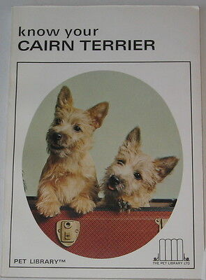 Vintage Cairn Terrier Book  Know Your Cairn Terrier