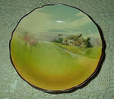 """Royal Doulton Series """"English Cottages"""" small pin dish -Great condition!"""