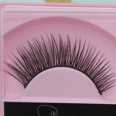 2pcs Extension New Long Handmade Thick Fake False Eyelashes Eye Makeup Lashes