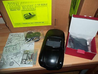 Last one Kit Total Model of the Porsche 356 1500 S Speedster 1955 in 1/12 scale