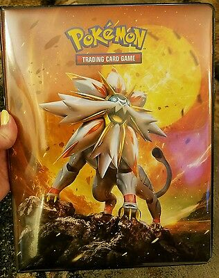 Pokemon Binder Sun and Moon Official 9 Pocket Ultrapro Card Cards TCG
