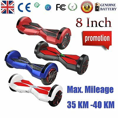 """CE-certified 8"""" E-Balance Scooter 2 Wheel Electric Scooter Hover Skateboard--NEW"""