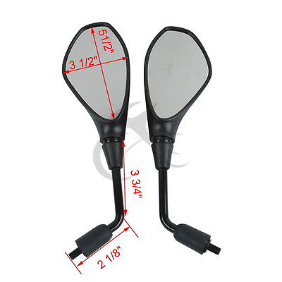 Rear Side View Mirror For DUCATI M620 M695 M696 M800 M900 MONSTER 1100