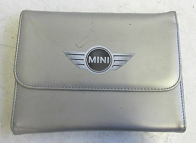 Genuine Used MINI Owners Handbook Case / Wallet / Book Pack for R50 R52 R53