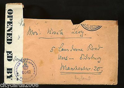 WW2  link  British Zone Germany Occupation British Censor /Civil Mail +Letter #1