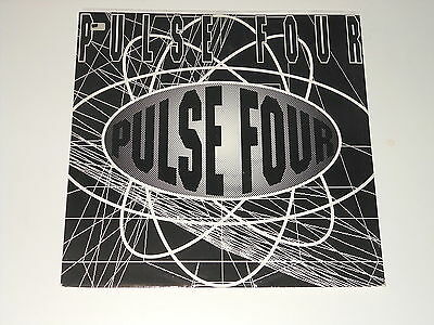 "Pulse Four - 12"" EP - Mental Cube - Smart Systems - Indo Tribe - 1992 - 12TOT 25"