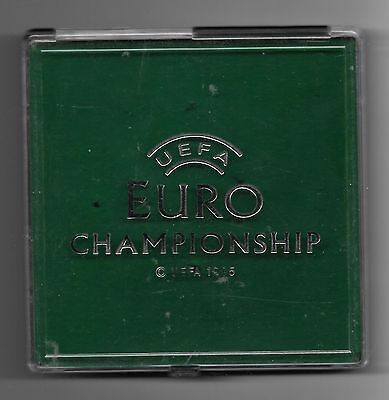 EMPTY presentation box for Euro96 pin badge set by the Big Badge Company