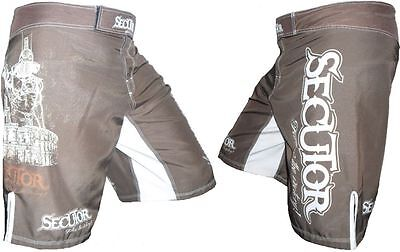 SECUTOR MMA Grappling UFC Cage Fight Kick Boxing Martial Arts Fighter Shorts