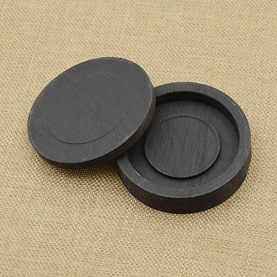 Calligraphy Ink Stone Inkwell Japanese Chinese Writing Tool Black Round New