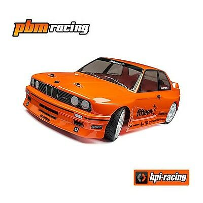 HPI Racing RS4 Sport 3 1/10 RC Electric 4wd 2.4GHz BMW M3 E30 Touring Car 114343