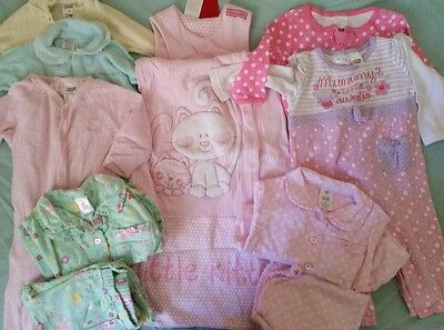 Sz 0 NEW EUC vguc bonds target sleeping bag pjs bundle wondersuit lots2list